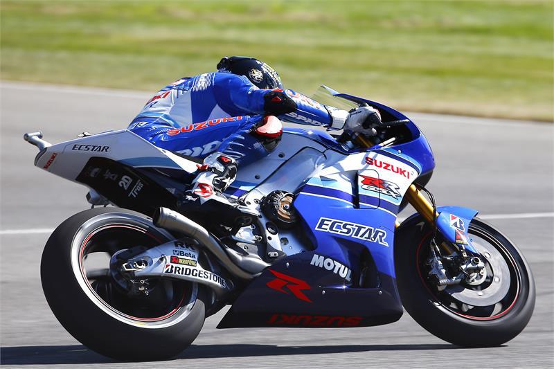 MotoGP: Suzuki Aplikasikan Cover Disc Brake pada GSX-RR di Seri Indianapolis 2015