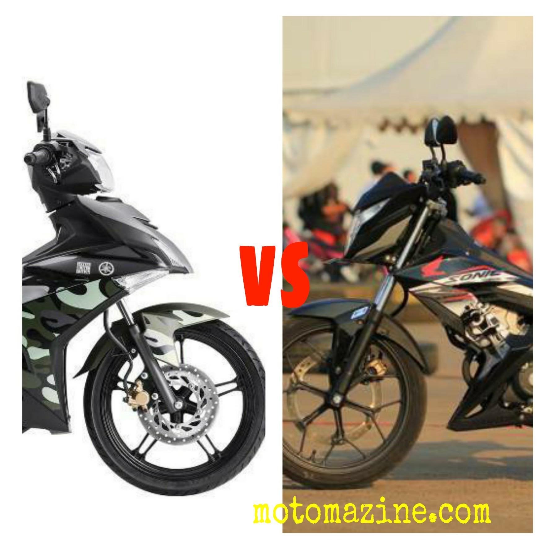 Giliran New Honda Sonic150R vs Yamaha MX-King.. Siapa Yang Menang..??