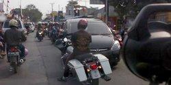 Pemoge Kembali Berulah.. Lawan Arah Hingga Sebabkan Kemacetan Parah..!!