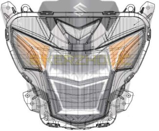 Jangan dilihat.. Bocoran Full Digital Speedometer New Satria 150 FI