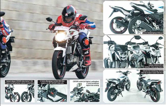 Adu Handal Yamaha New Vixion Advance vs Honda New CB150R oleh Motorplus.. New CB150R Unggul di semua Sisi..!!!