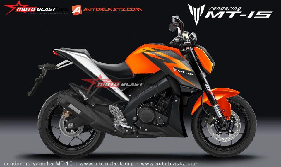 Renderan Yamaha MT-15.. Pancen Mak Nyuss…!!!