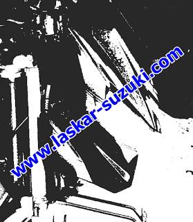 Bocor Headlamp New Suzuki Satria FI dengan Selang Rem Brembo