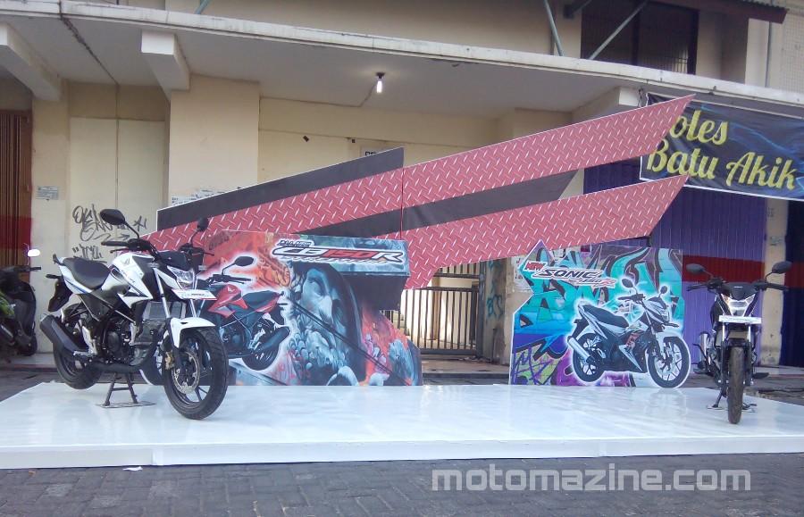 Launching All New Honda CB150R dan New Sonic 150R Kota Madiun… Meriah Sob..!!!