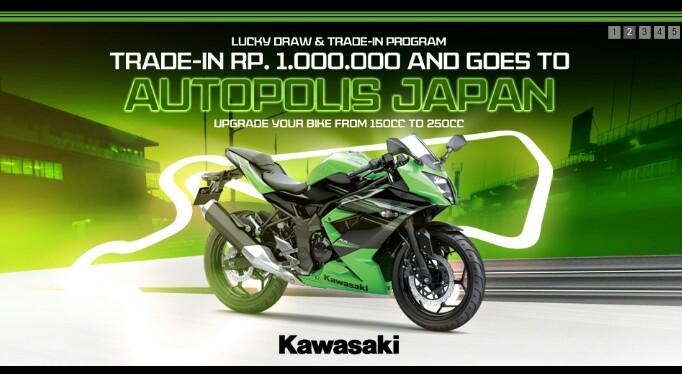 Kawasaki Segarkan Tampilan Ninja RR Mono