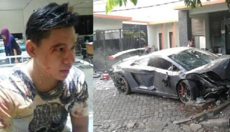 Pengemudi Lamborghini Maut di Surabaya itu Diketahui Bernama Wiyang Lautner