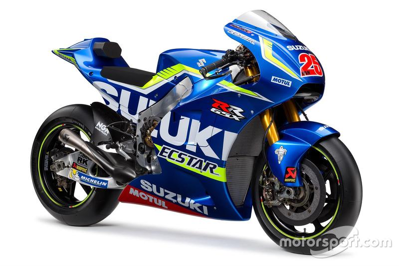 MotoGP: Tim Suzuki Ecstar Rilis Livery GSX-RR Versi 2016