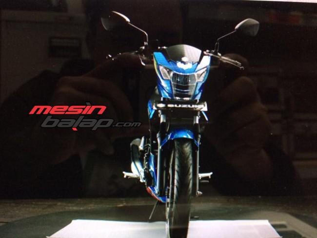 Tampak Jelas Semua Sisi Suzuki Satria FU150 Fi.