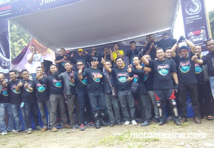 Deklarasi Remo (Reog Max Owner's) di Telaga Ngebel. Ponorogo Jadi Lautan NMax (Lanjutan)