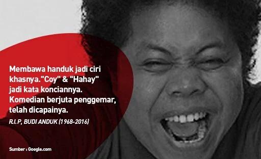 RIP Budi Anduk… Dunia Komedian Indonesia Kembali Berduka