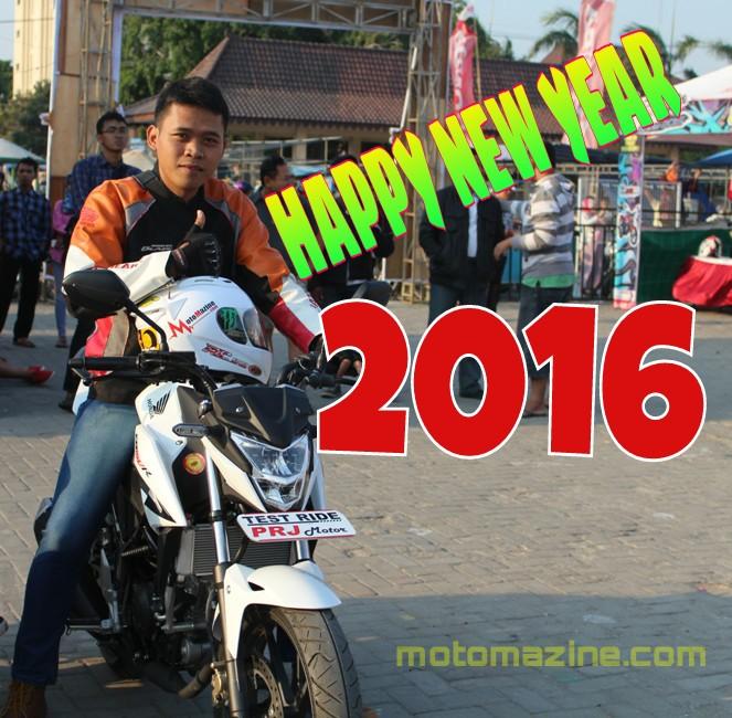 Selamat Tahu Baru 2016.. Tetap Berkarya Demi Masa Depan