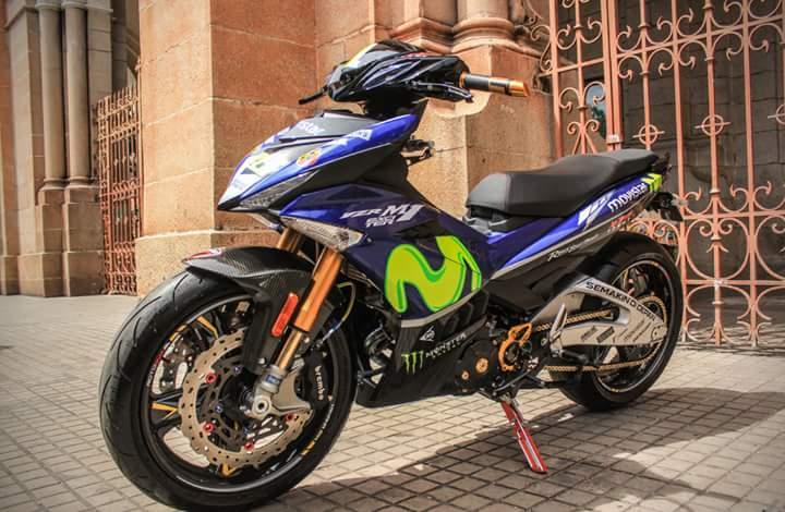 Modifikasi Yamaha MX King Asal Thailand ini Patut Diacungi Dua Jempol…!!!