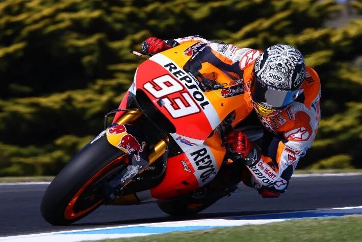 MotoGP: Hasil Akhir Tes Pra Musim MotoGP Phillip Island 2015. Marquez is Back..!!!!