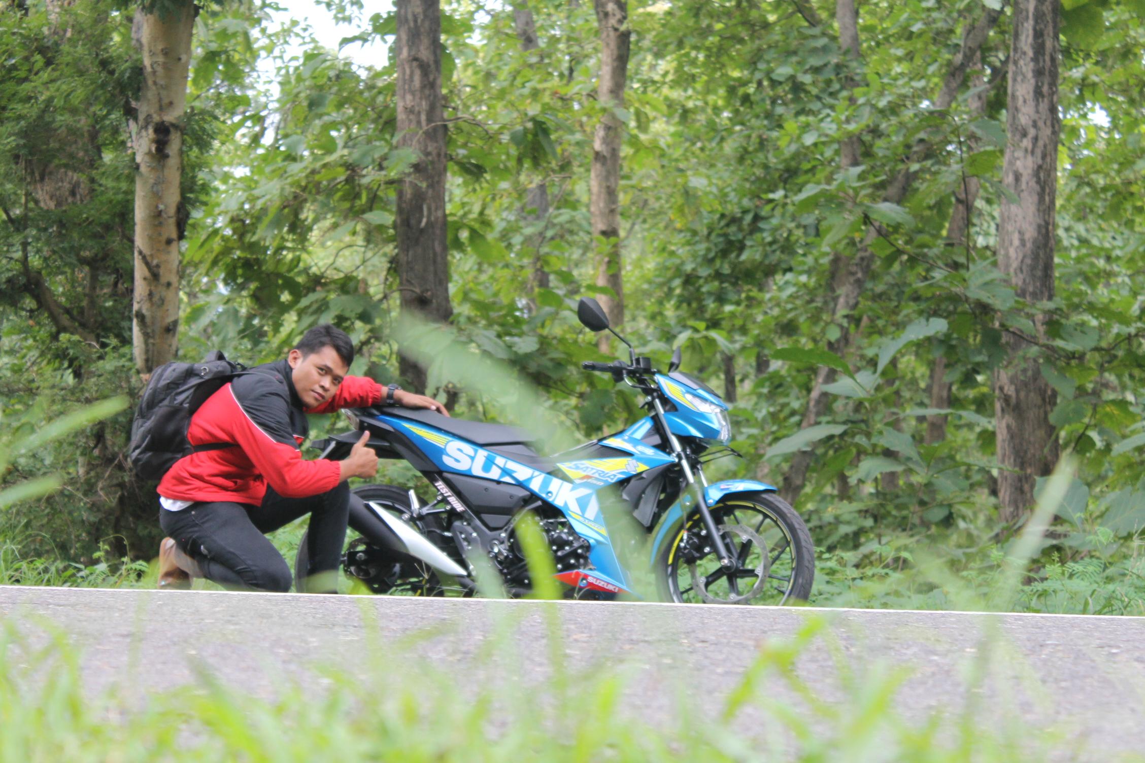 Test Ride Suzuki Satria F150 Fi : Ergonomi plus Handling
