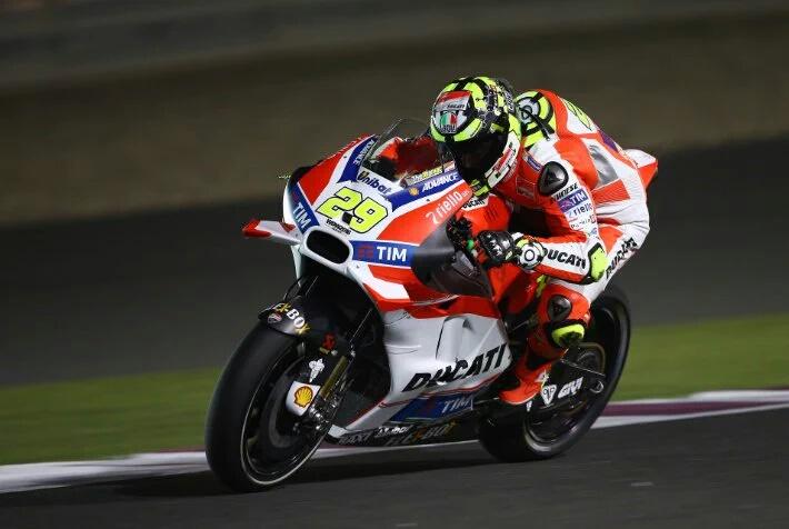 MotoGP: Andrea Iannone kokoh di posisi pertama FP3 Qatar.. Lorenzo kedua, Rossi tetap ke tujuh