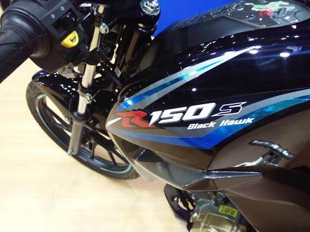 Motor Sport Suzuki berbasis mesin Satria akhirnya nongol… Ini dia R150S Black Hawk..!!!