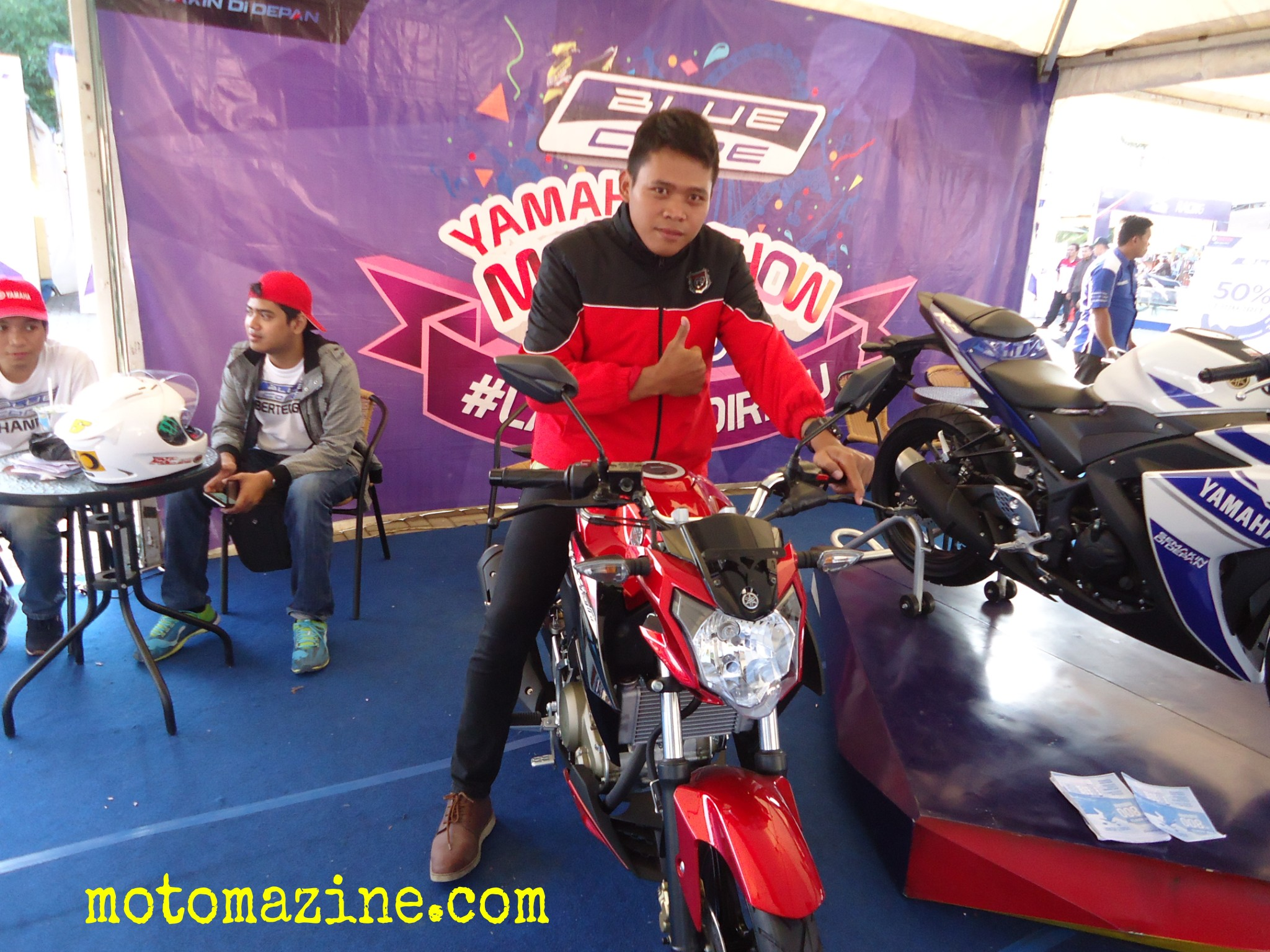New Honda CB150R perlahan salip penjualan Yamaha New Vixion (data AISI Maret)