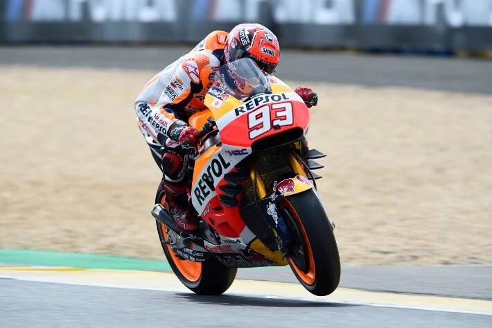 MotoGP: Inilah Alasan Marquez kenapa Dia Jatuh di Le Mans. Semua karena Kurangnya Akselerasi