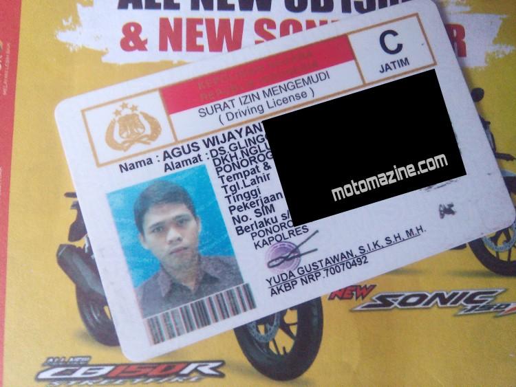 Telat Sehari Perpanjangan SIM, anda Harus Buat SIM Baru