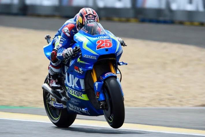 MotoGP: Dengan Sasis Baru Vinales Yakin Suzuki Selangkah Lebih Maju