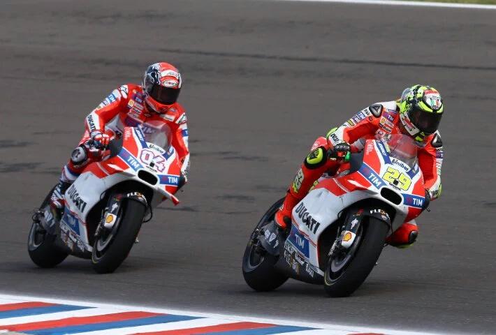 Duo Ducati Kuasai Free Practice 1 MotoGP Assen, Rossi Tujuh Marquez Sebelas