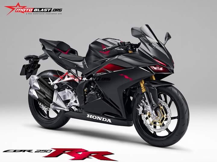 HOT: Render Honda CBR250RR. Bagaimana Menurut Anda?