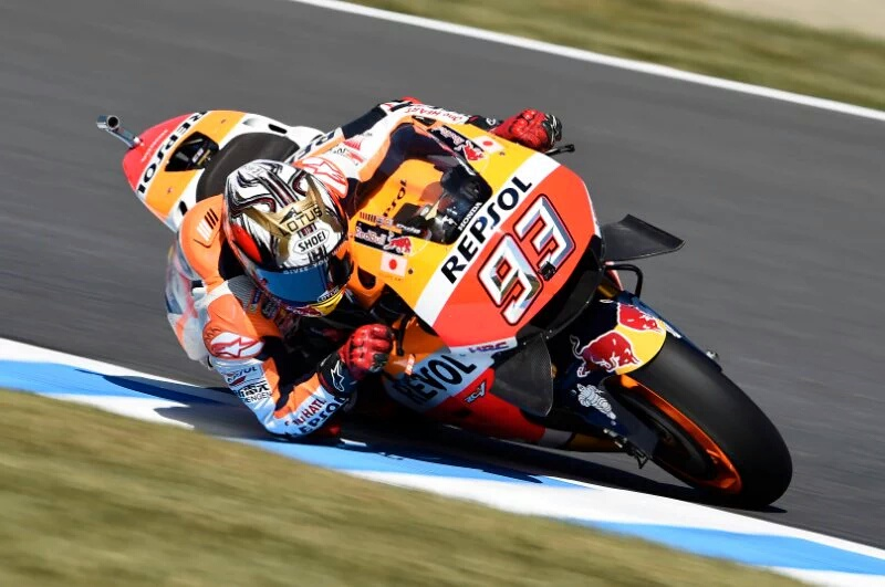 Kualifikasi MotoGP Australia: Marc Marquez Raih Pole Position diikuti Crutchlow. Duo Yamaha terlempar dari 10 Besar