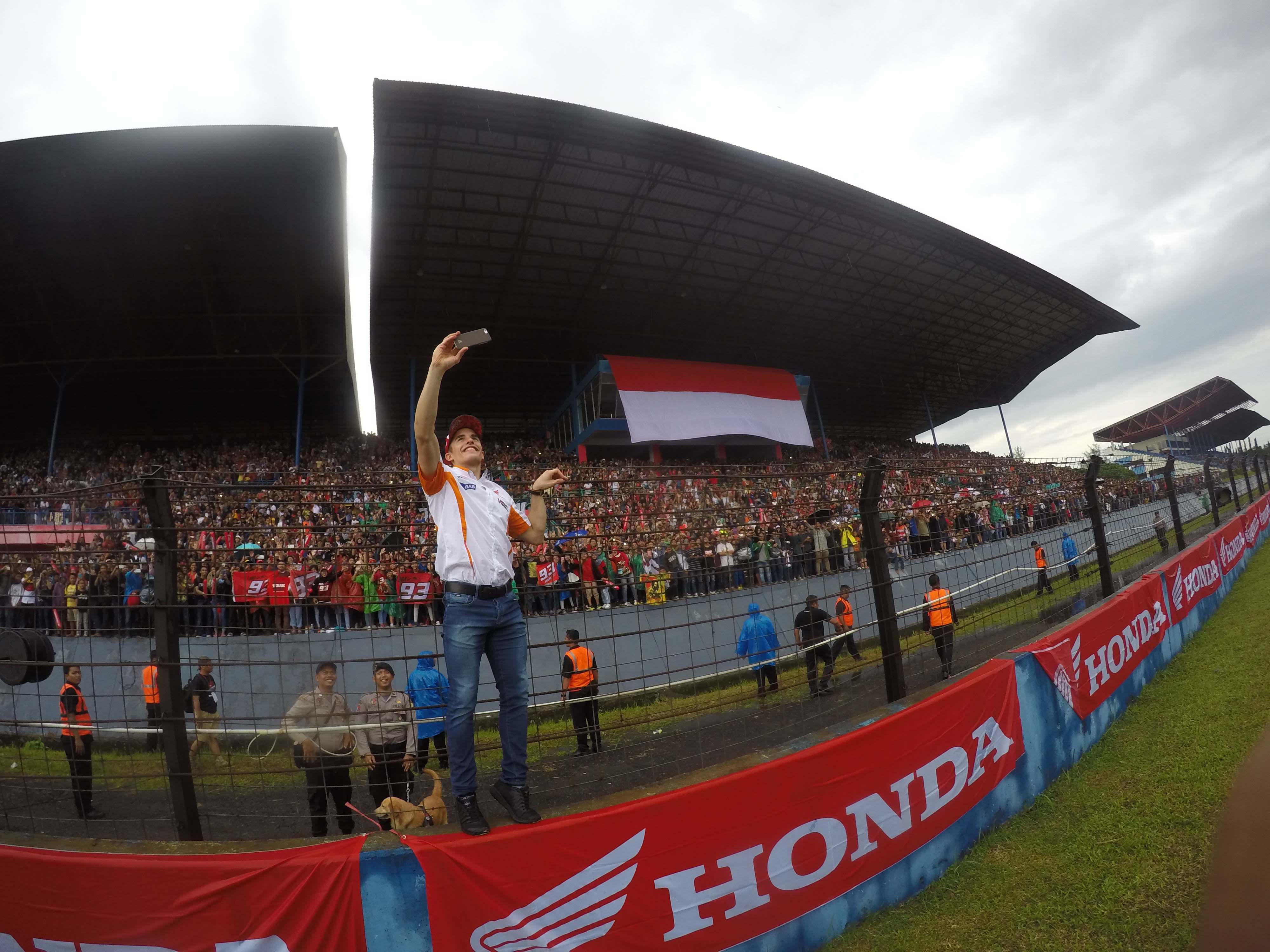 Marquez dan Pedrosa bakal Sapa Fans Indonesia di Sentul