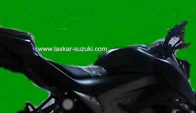 Semakin Gamblang Bentuk Suzuki GSX-S150. Pakai Undercowl dan Kunci Kontak di Tangki Depan