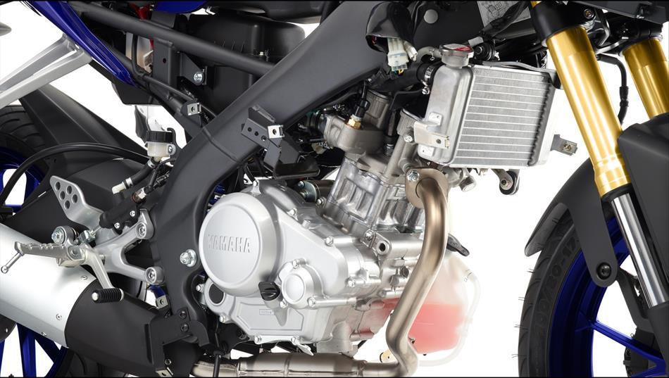 Yamaha Bakal Lawan Mesin DOHC CBR150R dengan Shock Upside Down pada R15 Facelift. Efektifkah?