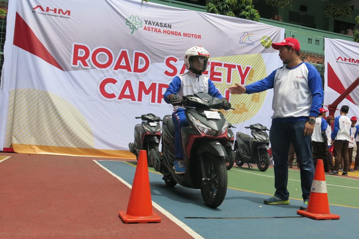 Yayasan AHM (YAHM) Kukuhkan 110 Duta Safety Riding