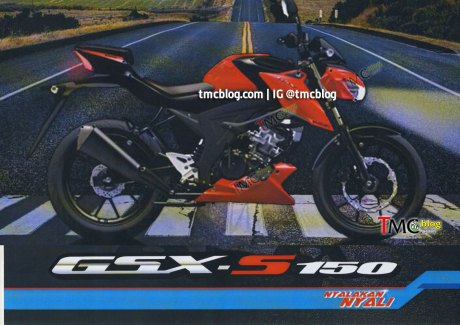 Gamblang: Headlamp sampai Buritan Suzuki GSX-S150