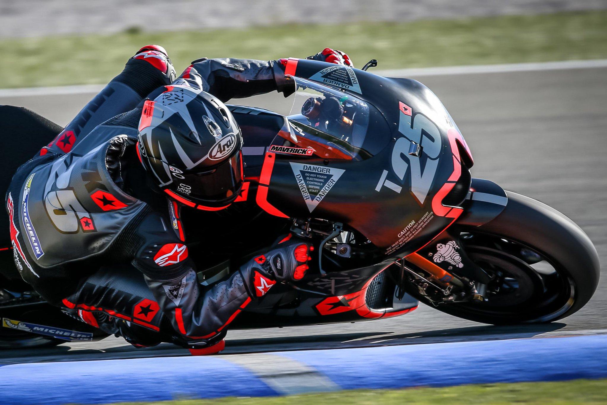 MotoGP Valencia Test Day 1 Result: Vinales, Rossi, Lorenzo