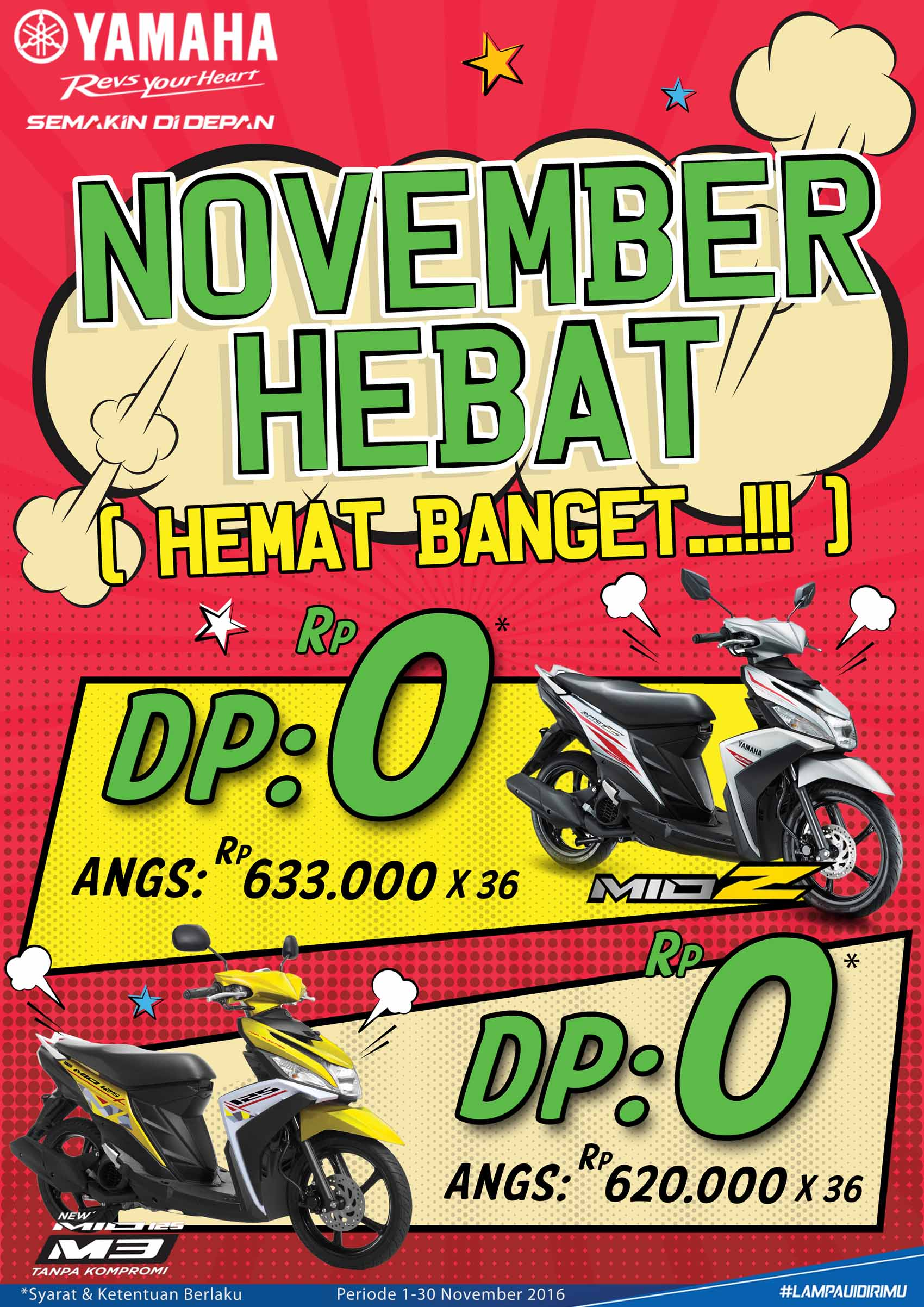 Yamaha Jatim Rilis Program November Hebat, Berikut Isinya