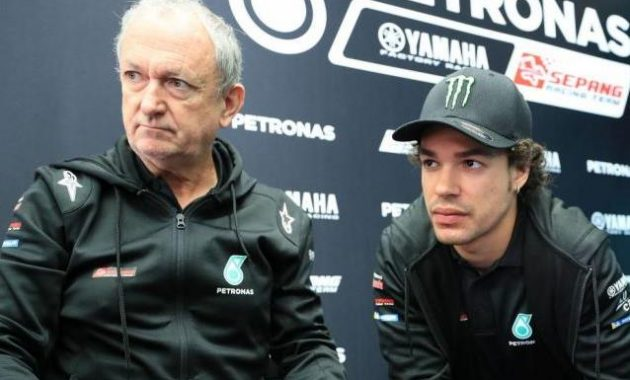 Dengan Spek M1 sama Morbidelli ingin saling Bantu dengan Rossi