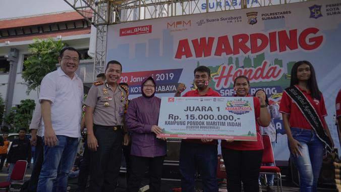 Honda Safety Riding Kelana Kota Surabaya, Awarding untuk Agen-agen Keselamatan Terbaik