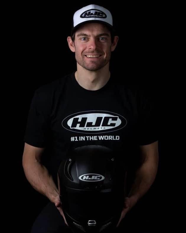 Musim 2019 Cal Crutchlow Pakai Helm HJC