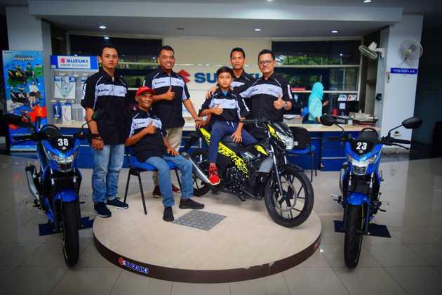 Kembali Nyalakan Nyali Tim Suzuki CHR Jatim siap Panaskan Road Race 2019