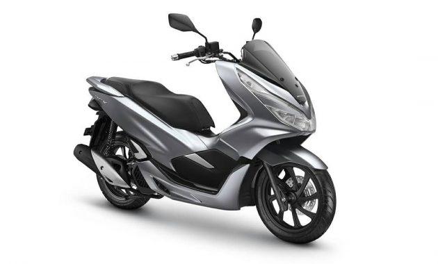 Ketularan Vario, Honda PCX150 Dapat Warna Baru,  Silver Doff