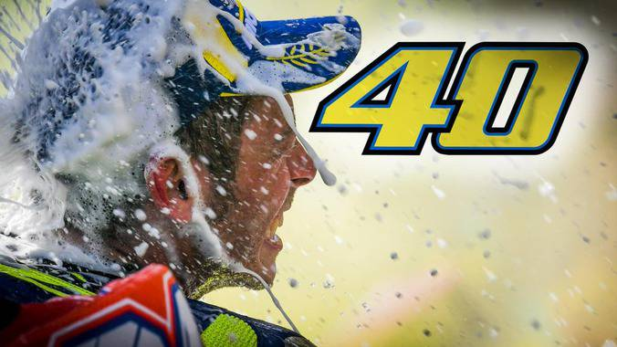 Happy Birthday Valentino Rossi, #Rossi40, Jurdun #10