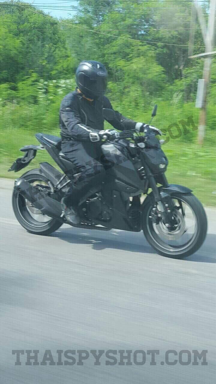 HOT: Spyshot Motor Sport Yamaha Terjepret di Thailand… Inikah MT-15..??