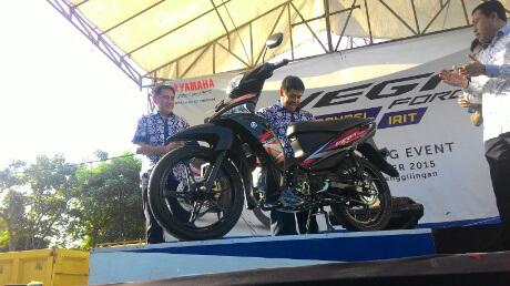 Yamaha Rilis Vega Force 115cc Tersedia Versi Disk Brake dan Drum Brake