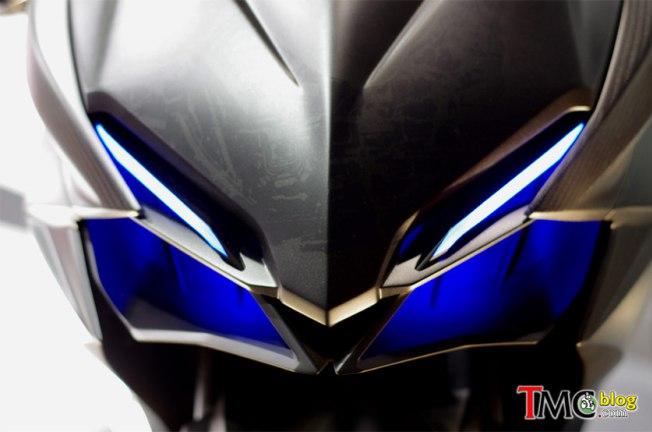 Tampak Jelas New Honda CBR250RR.. Dengan Shape Tajam, Front Fork USD dan Redline Tembus 14.000 rpm..!!!