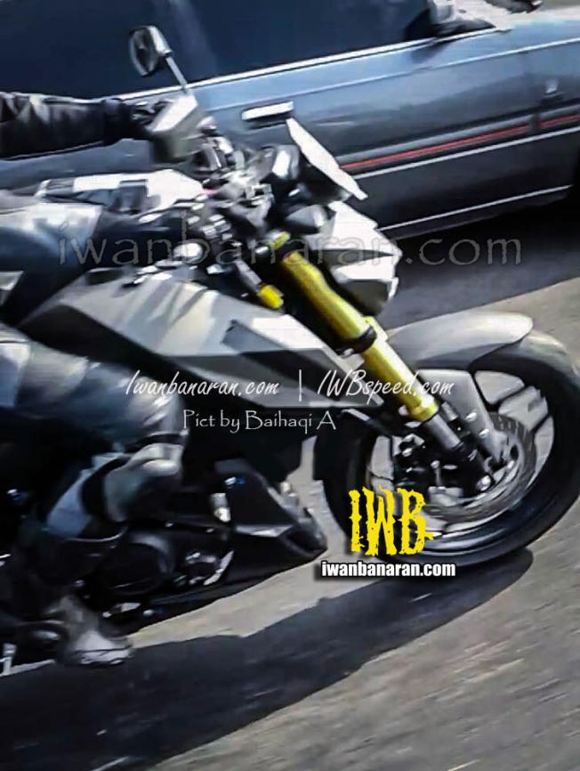 HOT: Spyshot Wajah Yamaha MT15.. Bengis dipadu USD Warna Gold..!!!