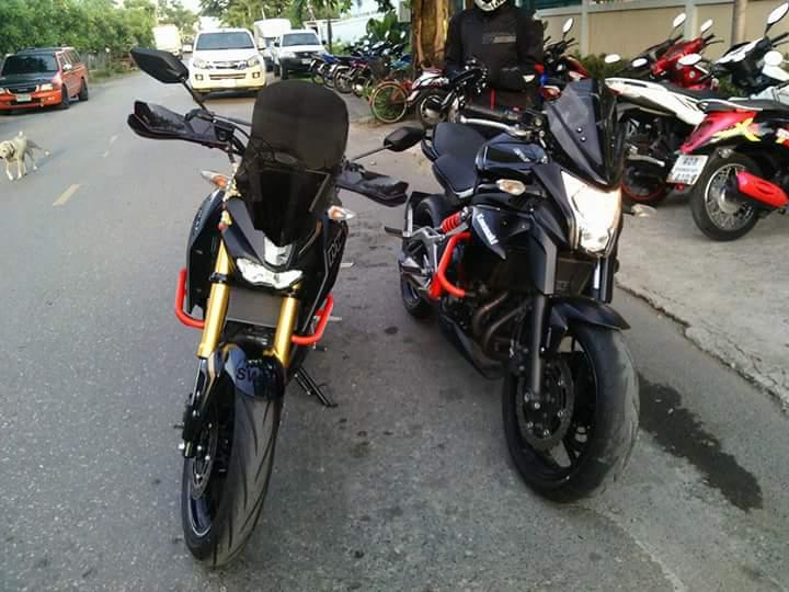 Yamaha M-Slaz Mampu Jabanin Kawasaki ER6N?