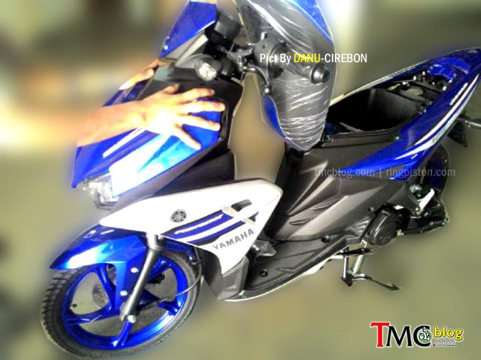 Percayalah Yamaha Aerox 125LC Sudah Helm-in. Nih Buktinya..!!!