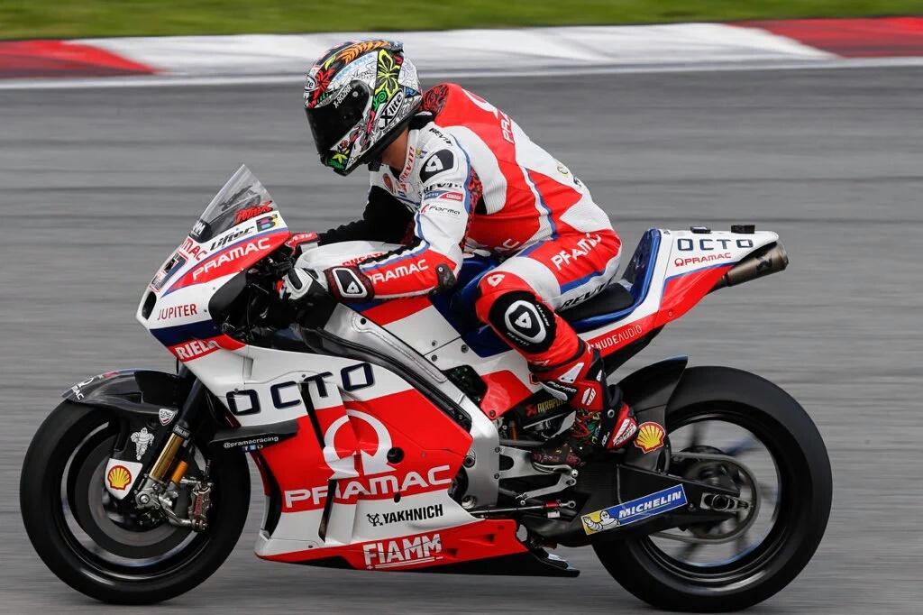MotoGP Tes Pramusim Sepang Hari Kedua.. Moncernya Petrucci dibalik Nahasnya Loris Baz..!!!