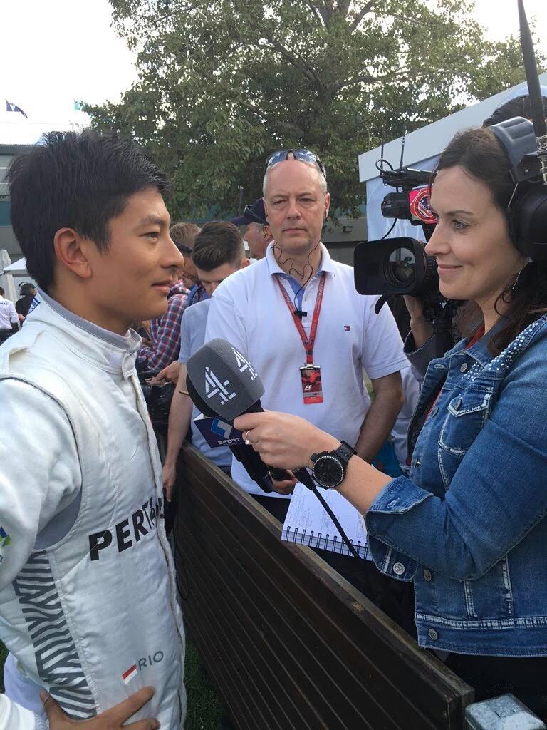 F1: Debut Rio Haryanto di Australia terhenti pasca Kecelakaan Alonso