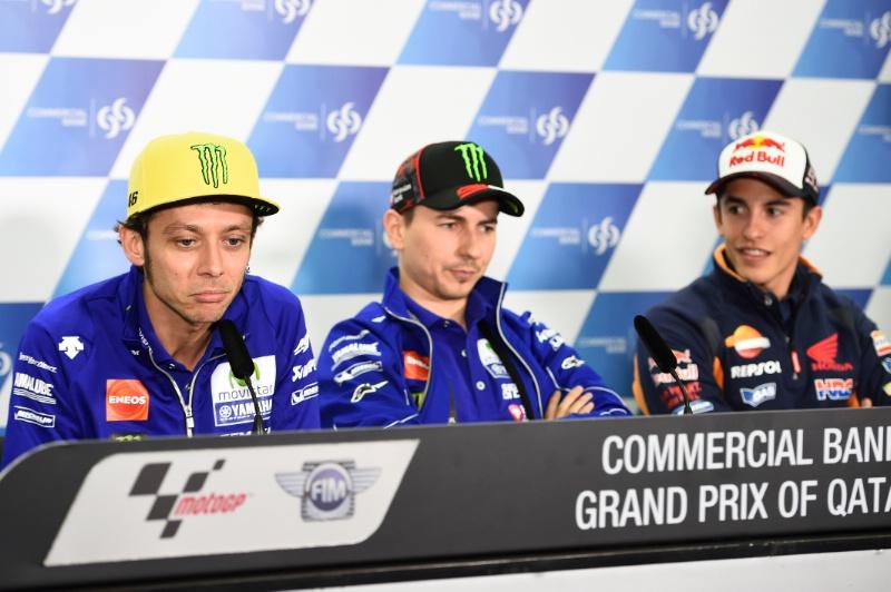MotoGP: Saat Rossi dan Marquez kembali duduk satu ruangan