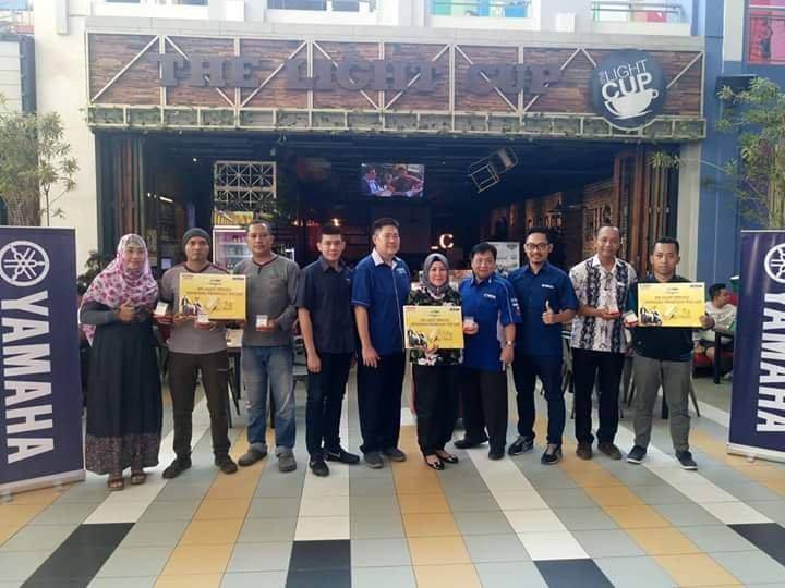 Yamaha STSJ Jatim Resmi Serahkan Hadiah Emas Program THR Lexi. Selamat!